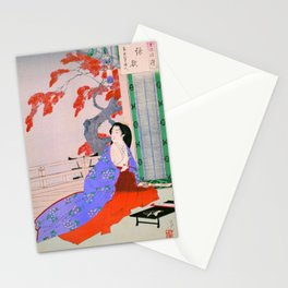 Mizuno Toshikata - POEM - Top Quality Image Edition Stationery Cards
