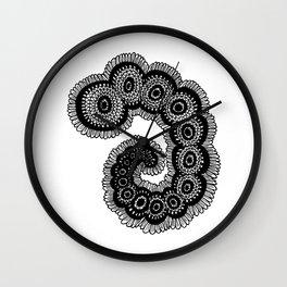 Larvae Wall Clock