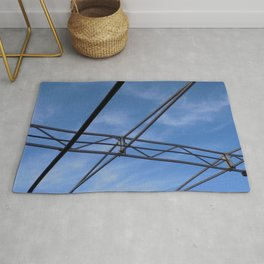 Metal Wired Sky Rug