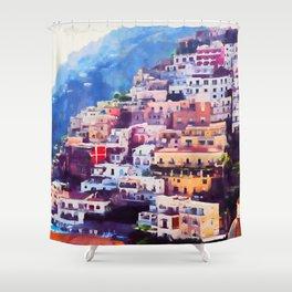 Amalfi, Italy Shower Curtain