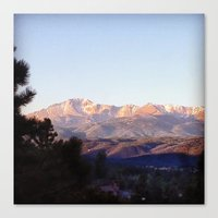 colorado Canvas Prints featuring Colorado by wendygray