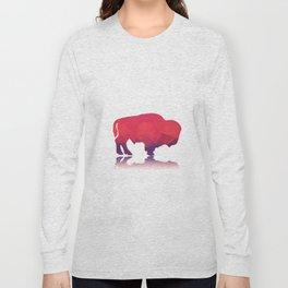 Geometric buffalo Long Sleeve T-shirt