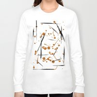 black and gold Long Sleeve T-shirts featuring black & gold by Jecca All