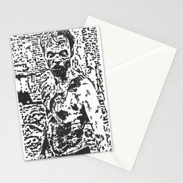 Zombie Gaze Stationery Cards