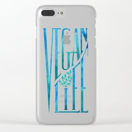 Vegan Life Clear iPhone Case