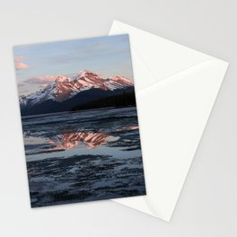 Maligne Lake Stationery Cards