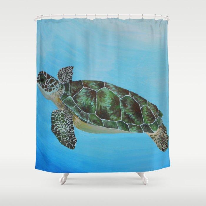 Green Sea Turtle Painting, Ocean Paintings, Sea Life Painting, Original  Acrylic Painting On