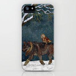Winter Journey iPhone Case