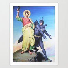 Temptation of Robin Art Print