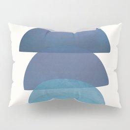 Blue Stack 03 Pillow Sham