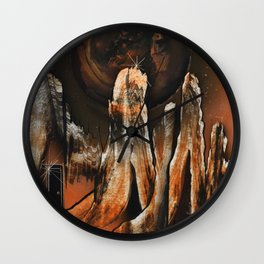Dimensional Door Wall Clock