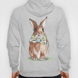 Easter Bunny wearing Bow Tie Hoody