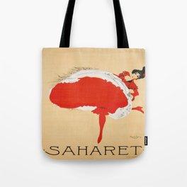 Vintage poster - Saharet Tote Bag