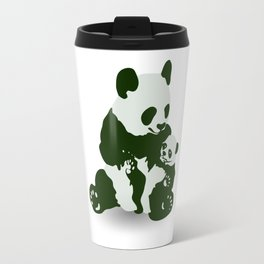 Mom and Baby Panda Travel Mug