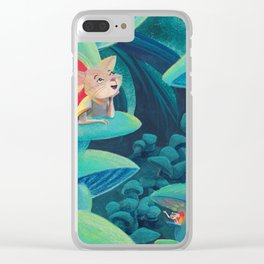Mouse Dreams Clear iPhone Case