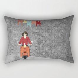 Scooter Rectangular Pillow