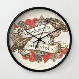 NM.NF Wall Clock