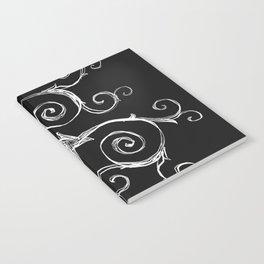 Magic Mandala Twisted Triskele Notebook
