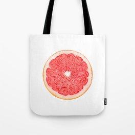 Slice of grapefruit Tote Bag