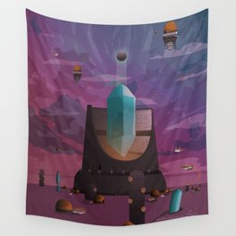 The high Tower Wall Tapestry