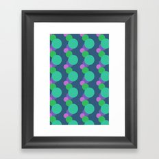 bubble me up Framed Art Print