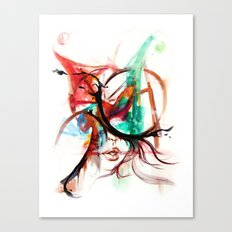 Be a clown Canvas Print