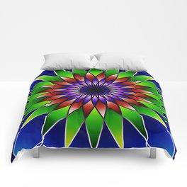 Queen of the valley mandala Comforters