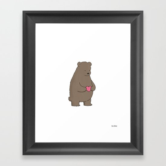 Bear & Heart  by lizclimo