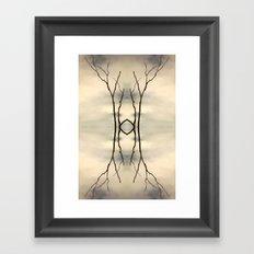 Desert Portal Framed Art Print