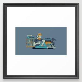 Willustration Framed Art Print