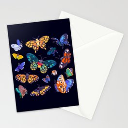 Butterflies Day Stationery Cards