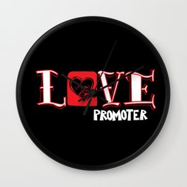 Love Promoter Wall Clock