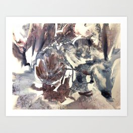abstract composition Art Print
