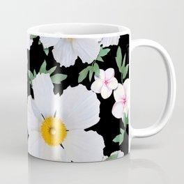 Matilija Poppies and Plumeria Coffee Mug