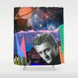Saturn Love Shower Curtain