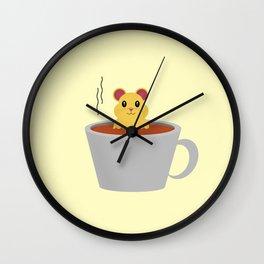 Hamster Bath Wall Clock