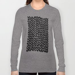 Hand Knit Zoom Long Sleeve T-shirt
