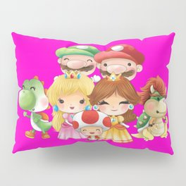 Pink Plumber's collection Pillow Sham