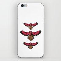 hawk iPhone & iPod Skins featuring Hawk by Dexter Gornez