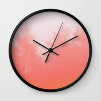 focus Wall Clocks featuring Out of Focus by Picomodi