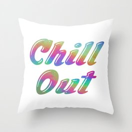 CHILLS Throw Pillow