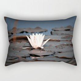 flower of the lake Rectangular Pillow