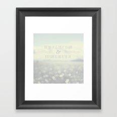 Irish Blessing Framed Art Print