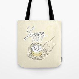 Lemon Tart Tote Bag
