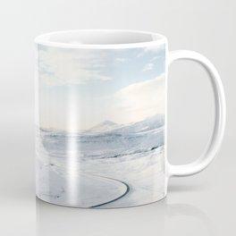 road in iceland Coffee Mug