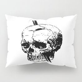 Skull of Phineas Gage With Tamping Iron Pillow Sham