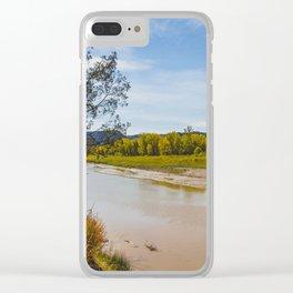 Theodore Roosevelt National Park North Unit, North Dakota 3 Clear iPhone Case