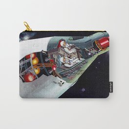 Gemini Spacecraft Diagram Carry-All Pouch