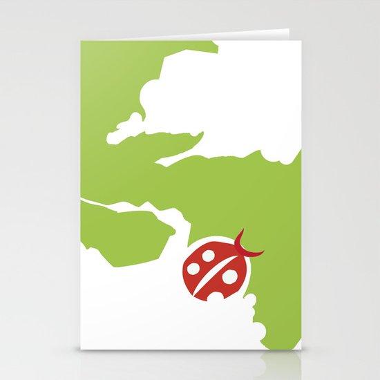 ladybird Stationery Cards