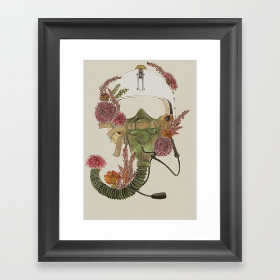 To Fly Framed Art Print
